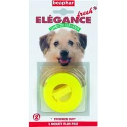 Obroża przeciw pchłom dla psa żółta Elegance Fresh