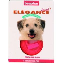 Obroża przeciw pchłom dla psa różowa Elegance Fresh