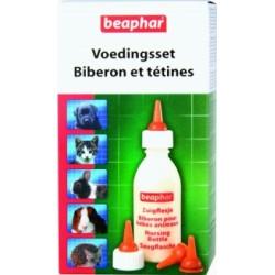 Zestaw do karmienia butelka i smoczki Beaphar