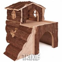 """Dwupiętrowy domek dla świnki morskiej Trixie """"Bjork"""""""