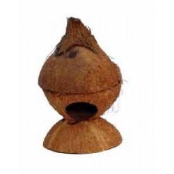 Domek  dla chomika z kokosa