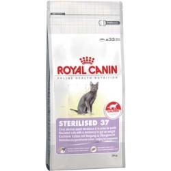 STERILISED 37 - 2 kg - koty sterylizowane, z tendencją do nadw