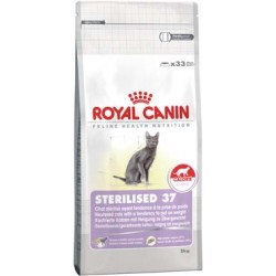 STERILISED 37 - 10 kg - koty sterylizowane, z tendencją do nadw