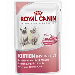 KITTEN INSTINCTIVE- dla kociąt - pakiet 12 x 85 g