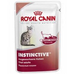 INSTINCTIVE pakiet 12 x 85 g - dla kotów dorosłych, wybrednych