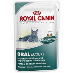 ORAL MATURE - 4 x 85g - dla kotów starszych i ochrony zębów