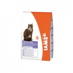 IAMS SENSITIVE SKIN - 0,3 kg - koty o wrazliwej skórze, dorosłe