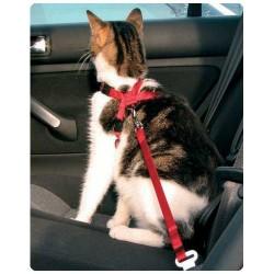 Szelki samochodowe dla kota do pasów bezpieczeństwa