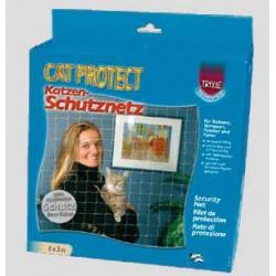 """Siatka zabezpieczająca """"Cat Protect"""" 2x1,5m bezbarwna"""