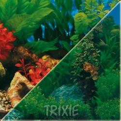 Tło do akwarium dwustronne Trixie 49 cm, wzór 2