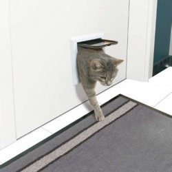 """Drzwi dla kota """"Freecat Classic"""" białe"""