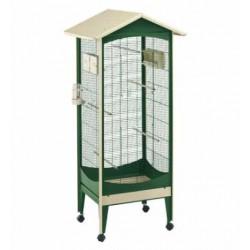 Woliera dla ptaków Ferplast Brio Mini z wyposażeniem