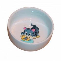 Miska ceramiczna dla kota, 0,3 l / 11 cm