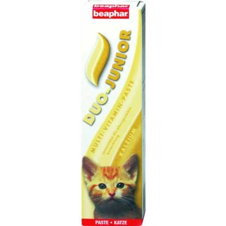 Beaphar Duo Junior Pasta witaminowa dla kociąt na skórę, sieść i
