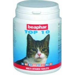 Beaphar Top 10 preparat witaminowo-mineralny dla kotów