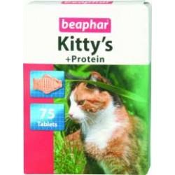 Beaphar Kitty's + Protein przysmak witaminowy dla kota