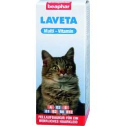 Beaphar Laveta dodatek witaminowy dla kota na zdrową sierść