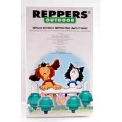 Beaphar Reppers Outdoor zestaw odstraszający psy i koty do stoso