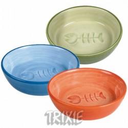 Miska ceramiczna dla kota z reliefem 0,2 l Trixie