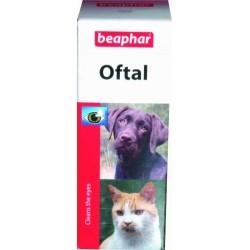 Beaphar Oftal krople do pielęgnacji oczu dla psów i kotów