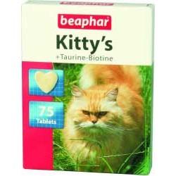 Beaphar Kitty's +Taurine-Biotine 75 szt. przysmak witaminowy dla