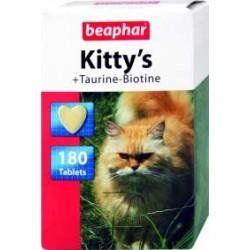 Beaphar Kitty's +Taurine-Biotine 180 szt. przysmak witaminowy dl