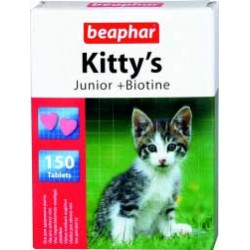 Beaphar Kitty's Junior + Biotine witaminowo-mineralny preparat d