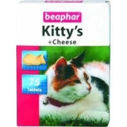 Beaphar Kitty's Cheese 75 szt. przekąska z serem i drożdżami dla