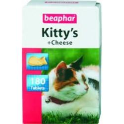 Beaphar Kitty's Cheese 180 szt. przekąska z serem i drożdżami dl