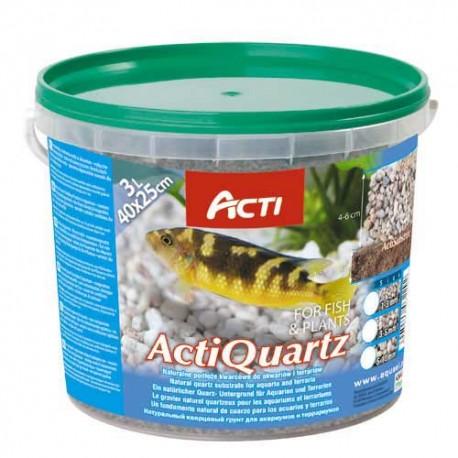 Acti Quartz 5-10mm podłoże kwarcowe do akwarium i terrarium