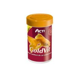 Acti GoldVit 100ml pokarm dla ryb zimnolubnych i złotych rybek