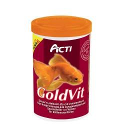 Acti GoldVit 250ml pokarm dla ryb zimnolubnych i złotych rybek