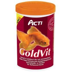 Acti GoldVit 1000ml pokarm dla ryb zimnolubnych i złotych rybek