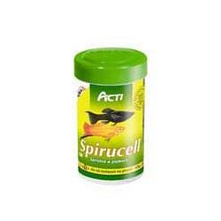 Acti Spirucell 1000ml pokarm ze spiruliną dla ryb roślinożernych