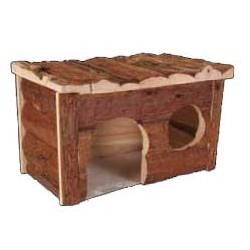 """Domek dla świnki morskiej z naturalnego drewna Trixie """"Jerrik"""""""
