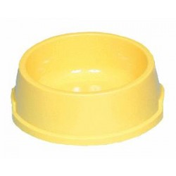 Miska plastikowa z gumowymi nóżkami średnia