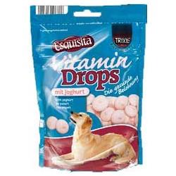 Dropsy dla psa jogurtowe witaminowe 125g Trixie