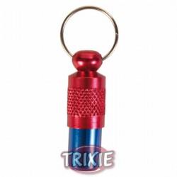 Adresówka niebiesko-czerwona dla psa Trixie