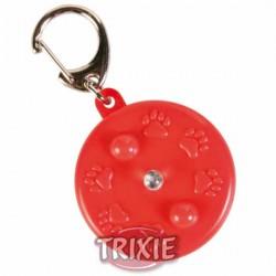 Adresówka plastikowa okrągła ze światełkiem Trixie