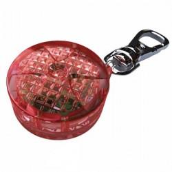Światełko migające LED okrągłę czerwone Trixie