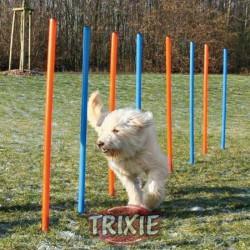 Tyczki do slalomu agility (12 sztuk) Trixie