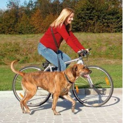 Smycz do joggingu i na rower Trixie