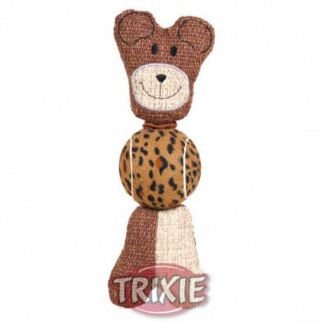 Misiek jutowy 29cm, zabawka Trixie