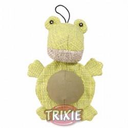 Żaba jutowa 19cm, zabawka Trixie