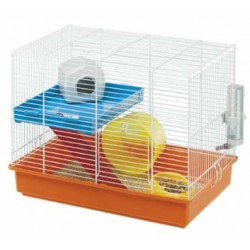 Klatka dla chomika Ferplast Hamster Duo z wyposażeniem