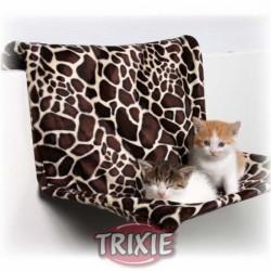 """Legowisko - hamak dla kota na kaloryfer """"żyrafa"""" Trixie"""