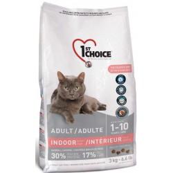 Karma z kurczakiem 350g dla kotów domowych krótkowłosych 1st Cho