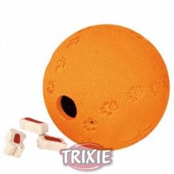 Piłka na przysmaki gumowa 6cm Trixie Labyrinth Snacky