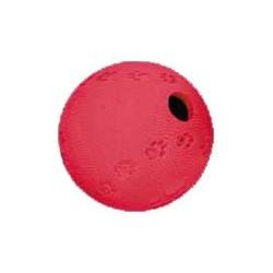 Piłka na przysmaki gumowa 7cm Trixie Labyrinth Snacky