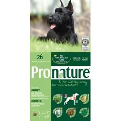 Karma z kurczakiem 15kg dla psów bez 3 zbóż Pronature